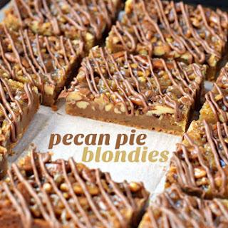 Pecan Pie Blondies