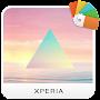 """Премиум XPERIAв""""ў Tetrahedron Theme временно бесплатно"""