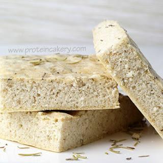 Rosemary Protein Focaccia Bread