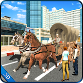 Horse Carriage Transport Simulator - Horse Riding