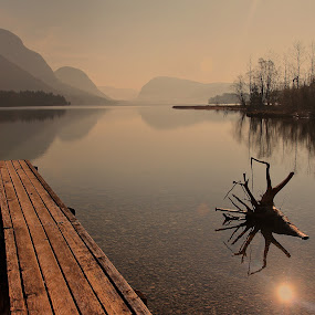 when morning awakening by Anže Papler - Landscapes Waterscapes