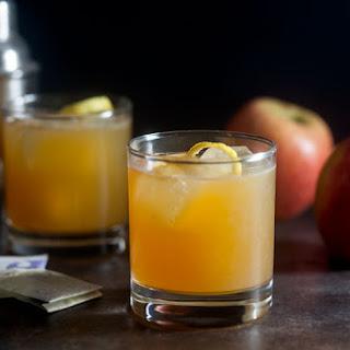 Earl Grey Apple Cider Cocktail.