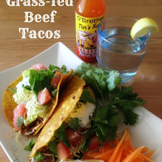 Grass-fed Beef Tacos
