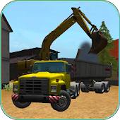 Construction Truck 3D: Asphalt