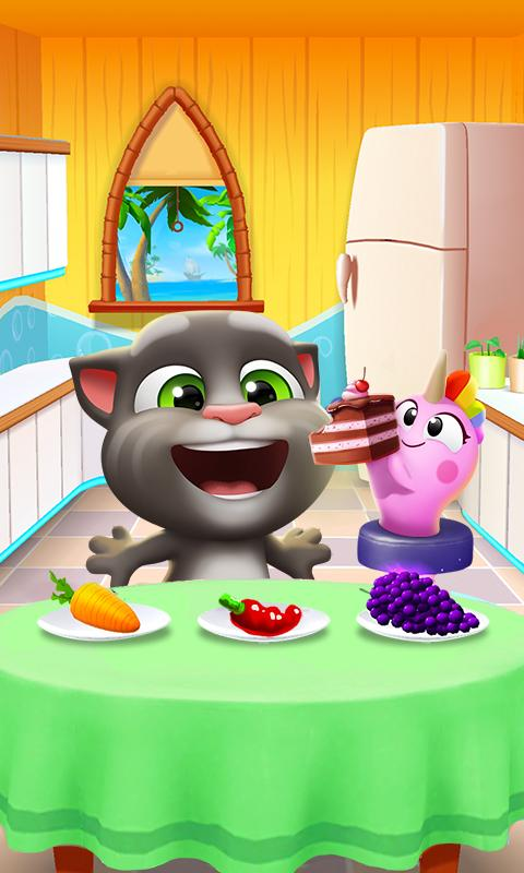 Screenshot 3 My Talking Tom 2 1.0.2001.25 APK MOD