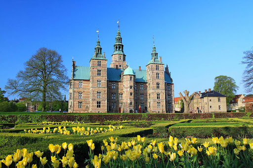 The grounds of Rosenborg Castle feature the lovely Kongens Have (The King's Garden).