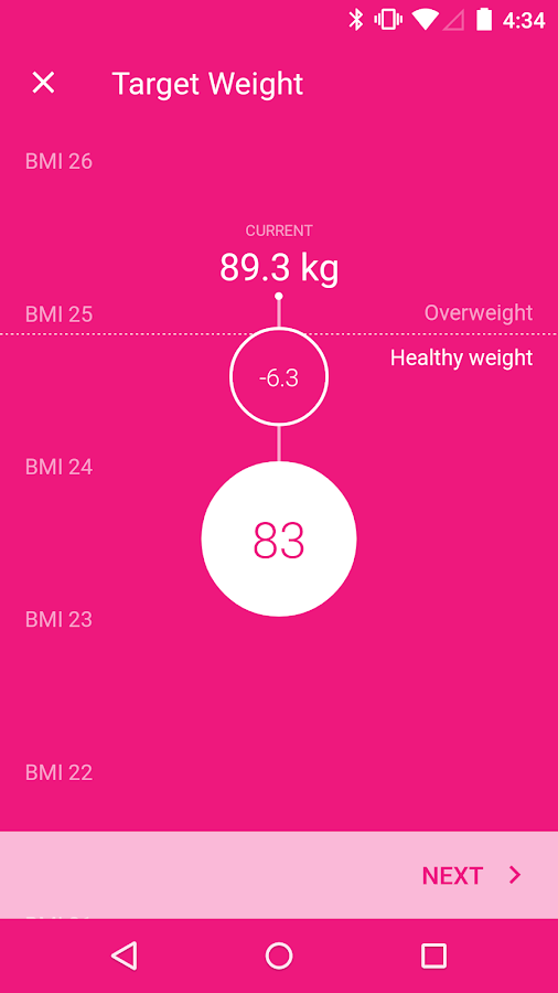Health Mate- screenshot