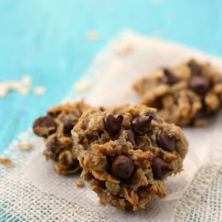 Four Ingredient Banana Oatmeal Cookies..