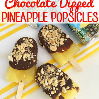 Chocolate Dipped Pineapple Recipes.