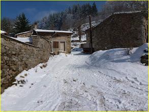 """Photo: Départ du hameau """"la Scie du Bost"""""""