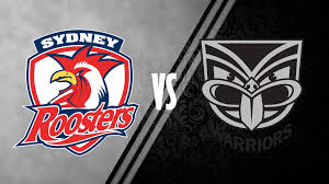 Image result for warriors vs roosters 2016 round 15
