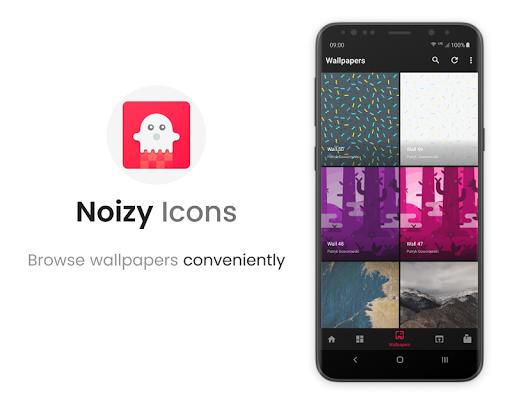 Noizy - Icon Pack screenshot 5