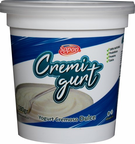 Yogurt Cremoso Cremigurt Dulce 180Gr