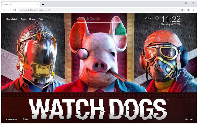 Watch Dogs Legion Wallpaper HD New Tab