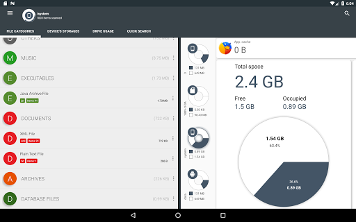 Storage Analyzer & Disk Usage 4.1.0.9 Screenshots 10