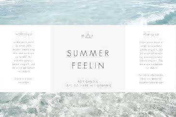 Summer Feelin - Label template
