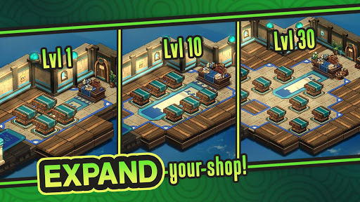 Tiny Shop: Idle Fantasy Shop Simulator modavailable screenshots 3