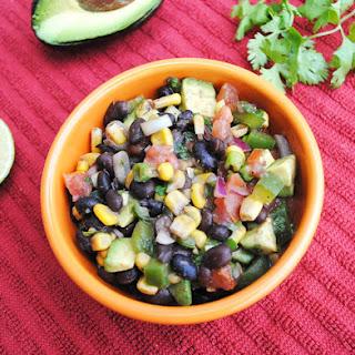 Black Bean and Corn Salad with Avocado