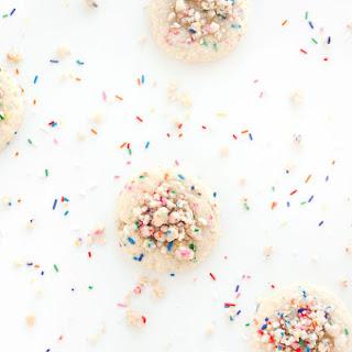Birthday Cake Crumble Cookies