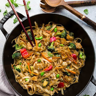 Teriyaki Chicken Noodles.