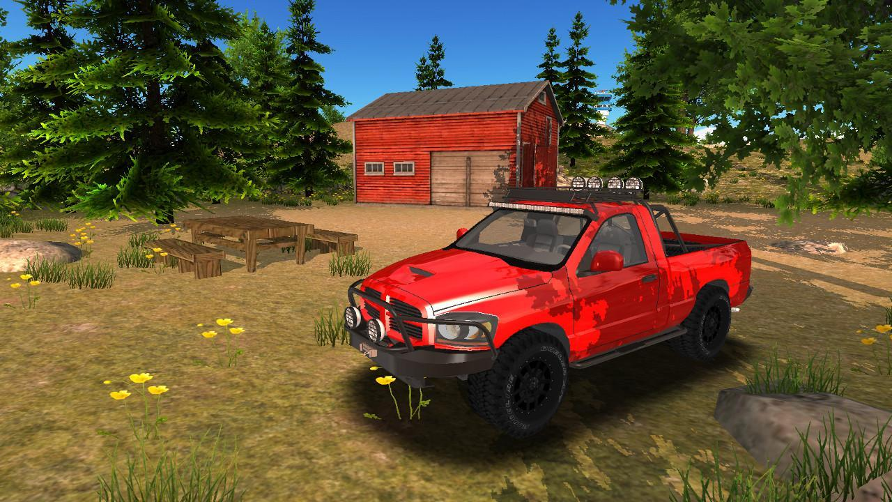 Offroad 4x4 Car Driving- screenshot