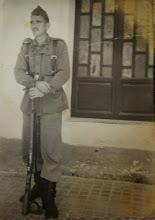 Photo: Militar. Proveedor: Anabel Ventureira. Año: 1952.