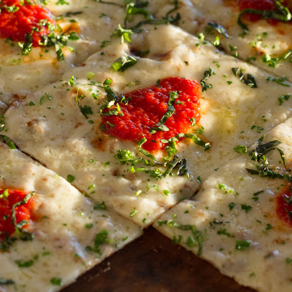 Wood-grilled Flatbread Pizzas