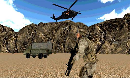 陸軍スナイパーコマンドーシューティング