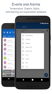 Breastfeeding - Baby Tracker App - náhled