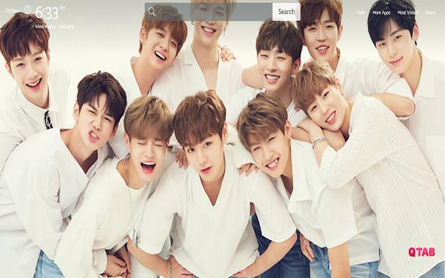 Kpop Wanna One Wallpapers Theme New Tab