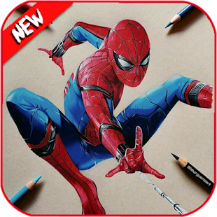 Download How To Draw Spiderman Homecoming For PC Windows and Mac apk screenshot 22
