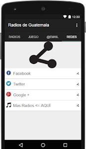 Radios de Guatemala Gratis screenshot 3