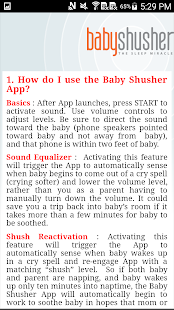 Baby Shusher- screenshot thumbnail