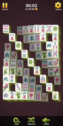 Mahjong Blossom Solitaire 1.0.3 screenshots 1
