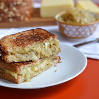 Onion Confit + Grilled Cheese.