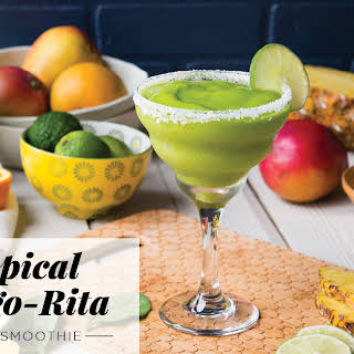 Tropical Mango-Rita Green Smoothie.