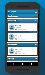Football Coach App - náhled