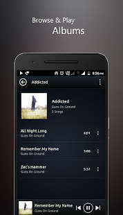 PowerAudio Pro Music Player Screenshot