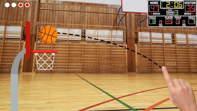 Basketball Shooter - Free Throw Game Android 4