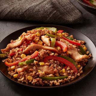 Southwestern Chicken Brown Rice & Quinoa.