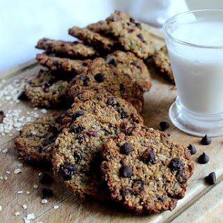 Chewy Vegan Trail Mix Cookies