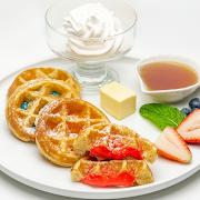 Mochi Waffles (4 pcs)