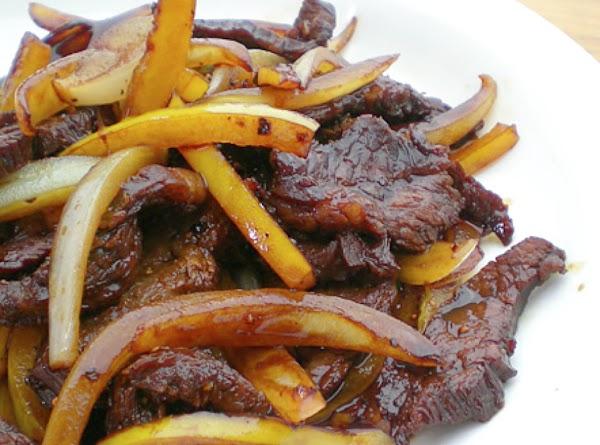 Black Pepper Beef Stir-fry Recipe