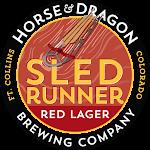 Horse & Dragon Sled Runner Red Lager