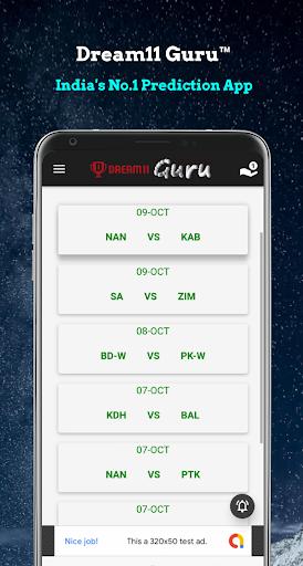 Dream11 Guruu2122 - Dream11 Prediction & Tips 1.5 screenshots 1
