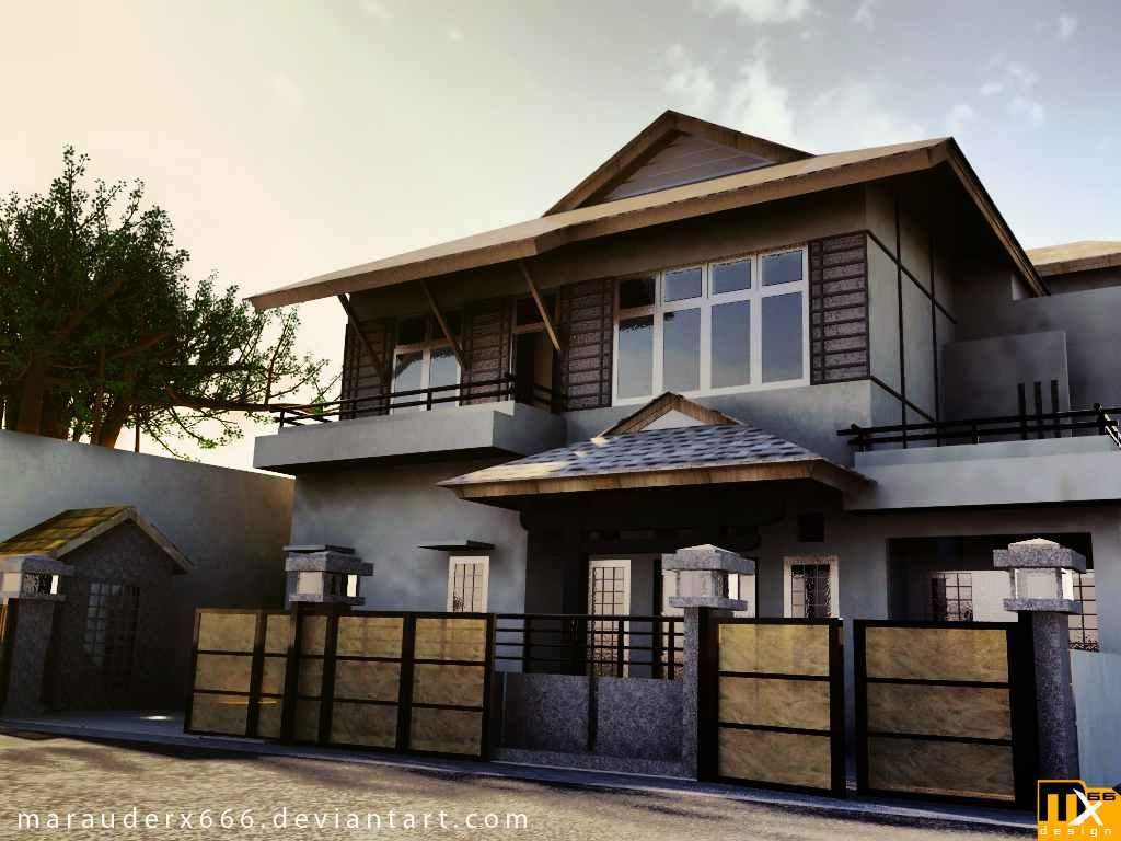 House-Designs-Exterior-With-House-Plans. Home Exterior Design Ideas Screenshot