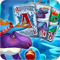 Solitaire: Frozen Dream Forest icon