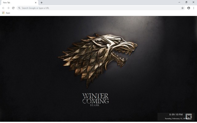 Game of Thrones New Tab