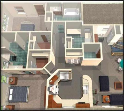 玩免費生活APP|下載3Dホームデザイン案 app不用錢|硬是要APP