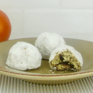 Orange Spice Russian Tea Cakes.